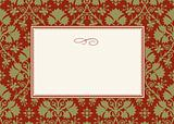 Holiday Frame and Pattern
