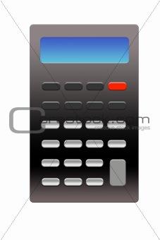 Calculator Template Illustration