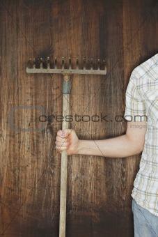 Old rake
