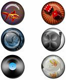 Various Web Buttons