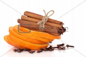 Cinnamon, Orange and Cloves