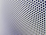 Metal mesh texture (shallow DOF)