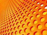 Red-hot metal mesh