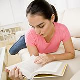Young Woman Writing in Journal Young Woman Reading