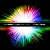 Colorful Background for Technology Flyers
