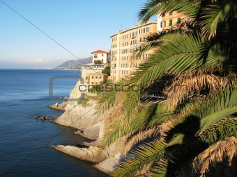 Camogli, famous resort on Italian Riviera