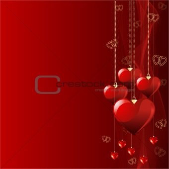 Beautiful Valentine background.