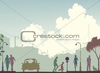 Toned street
