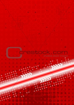 Bright contrast technical background