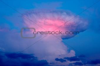Cumulonimbus incus (Thunderhead)