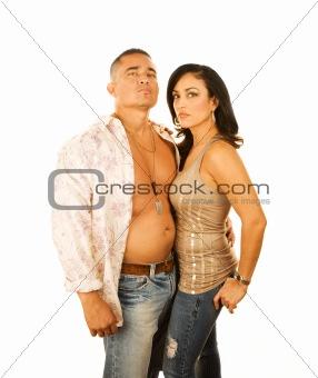 Attractive Latino Couple