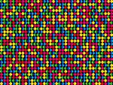 Seamless Abstract Colorful Dots Background
