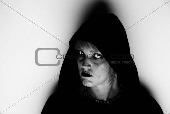 Witch in a corner