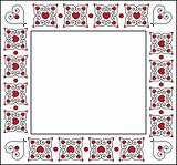 Square Valentine Frame or Tag