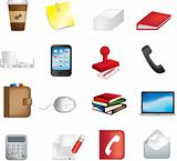 business office items icon