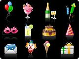 Birthday_black background 