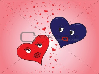 heart girl and boy