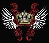 heraldic crown design