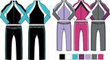 woman sporty 2 piece set