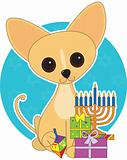 Chihuahua Hanukkah
