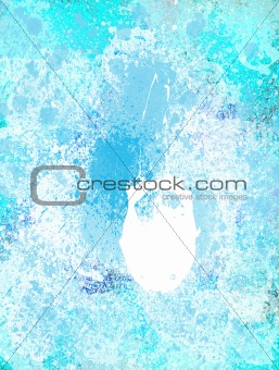 Blue and White Marble Background
