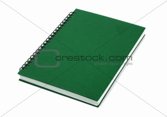 Green Closed Book