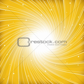 Abstract yellow illustration. Vector
