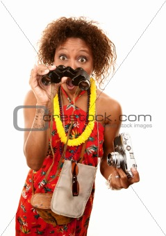 African-American Tourist