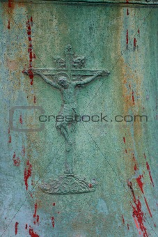 Old metalic Crucifix