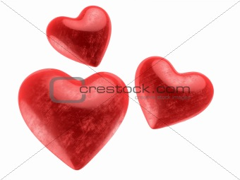 beautiful valentines hearts
