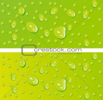 beautiful decoration water drops