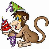 Monkey Happy Birthday