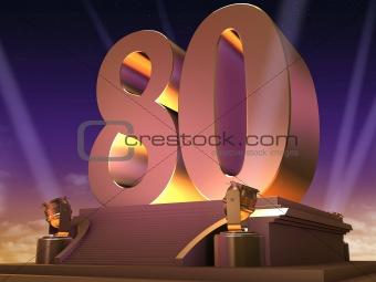 golden 80 - film style