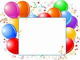 Balloon Banner
