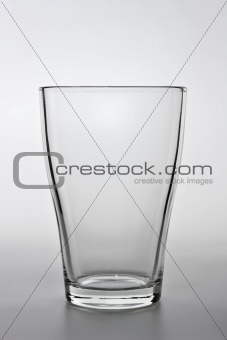 close up shot of an empty water glass