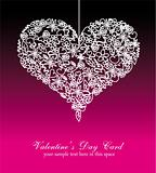 Colorful Valentine's Day Card Background