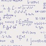Formulas - seamless abstract background