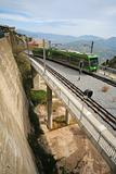 Montserrat monorail railway 