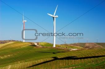 Clean wind generators