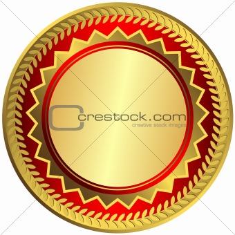 Gold big medal