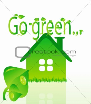 beautifull ecology green house