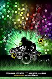 Urban Discoteque Event Background for Flyers