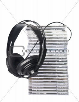 Cd`s and Headphones