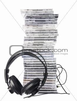 Cd`s and Headphones