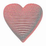 Abstract Dotty Heart