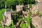Inner yard of old castle