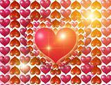 Luminous hearts
