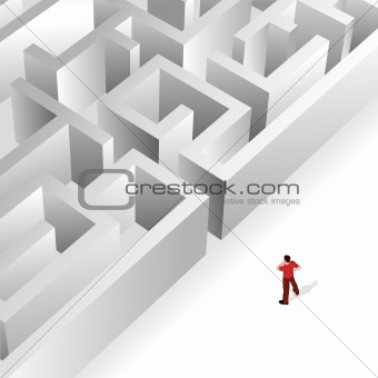 Crowd Source - Thinking Maze