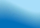 blue wave halftone pattern