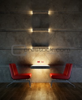 lounge room interior